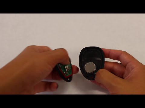 How To Replace A Chevrolet Silverado Key Fob Battery 2007 - 2011