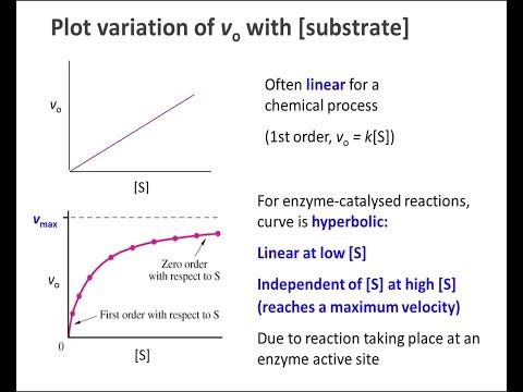 Biochemistry 9.2: Enzyme kinetics part 1