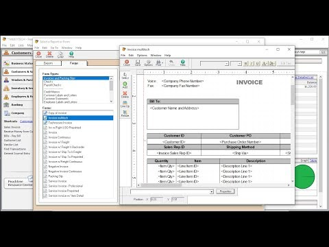 How to Customize Sage Peachtree Invoice