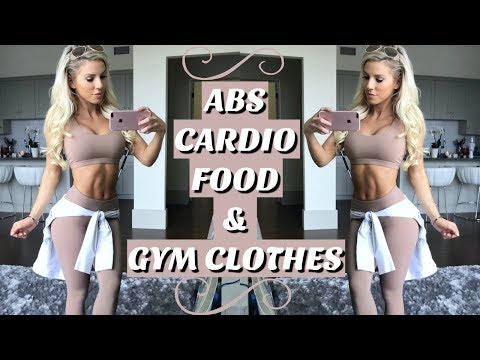 ABS, Cardio, Food, & Gym Clothes | Day in My Life
