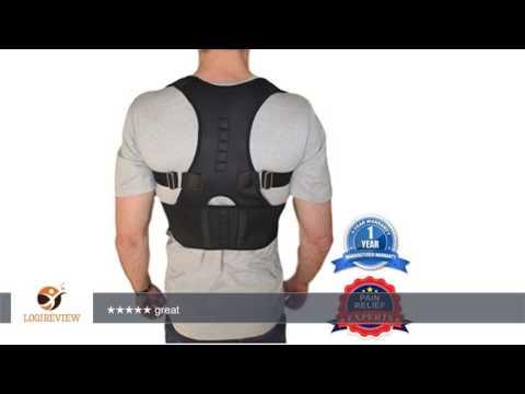 Thoracic Back Brace Support for Back Neck Shoulder Upper Back Pain Relief, Perfect Posture Corrector