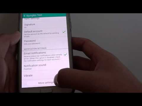 Samsung Galaxy S5: How to Enable / Disable Email Auto Download Attachment