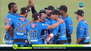 Highlights: Thunder v Strikers - BBL06