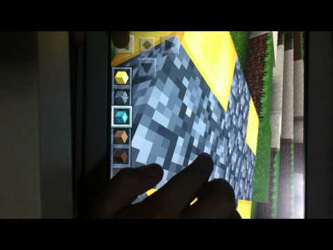 Como se faz o portal para o nether minecraft PE 0.8.1 alpha