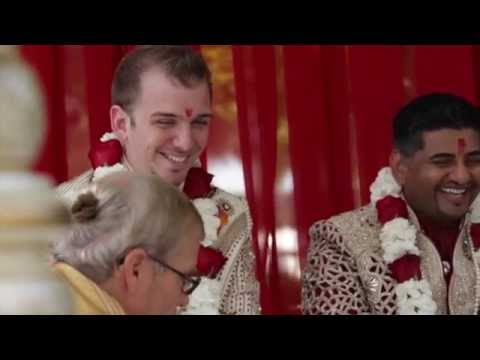 Xxx Mp4 Neil Singh Eli Pew Wedding Highlights HD Gay Hindu Indian American Wedding 3gp Sex