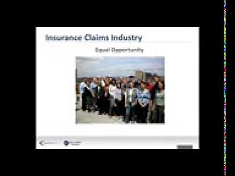 Top 10 Reasons to Become an Insurance Claims Adjuster.