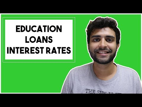 Interest Rates for Education Loans Explained | MS in the US