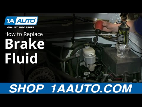 Brake Fluid Types and a Simple way to change the fluid in your Master Cylinder