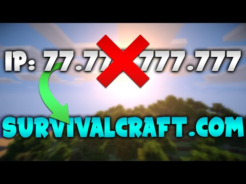 How to Turn Minecraft Server IP into a DOMAIN!