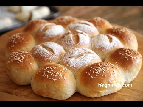 How to Make Homemade Dinner Rolls - Heghineh Cooking Show