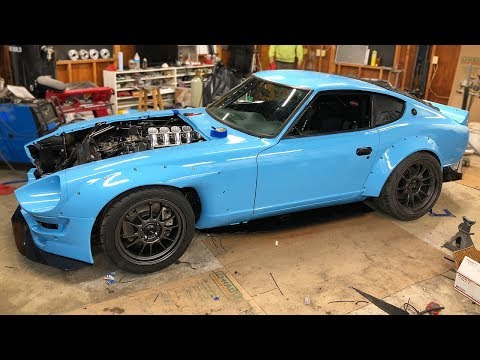 We Built The Car Everyone Said Was Impossible - Last Day Of The 240z Build Before SEMA!
