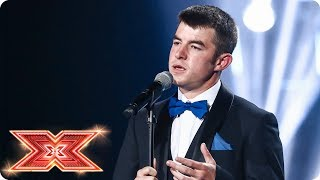 Anthony Russell dresses to impress but can he win a seat?   Six Chair Challenge   The X Factor 2017