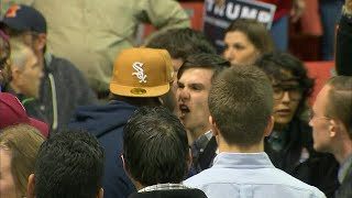 RAW VIDEO: Violence erupts at Donald Trump rally in Chicago