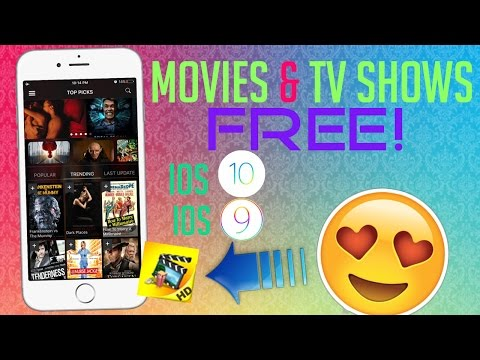 Watch Movies & TV Shows FREE in HD on iOS 9 / 10 - 10.0.3 (NO JAILBREAK) iPhone, iPad, iPod Touch