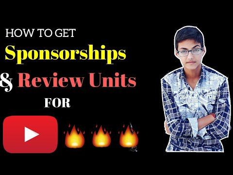 How to earn money from youtube without ads. How to get sponsorships and free review units