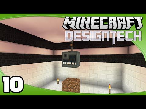 DesignTech - Ep. 10: Enderman Spawner | Minecraft Custom Modpack Let's Play
