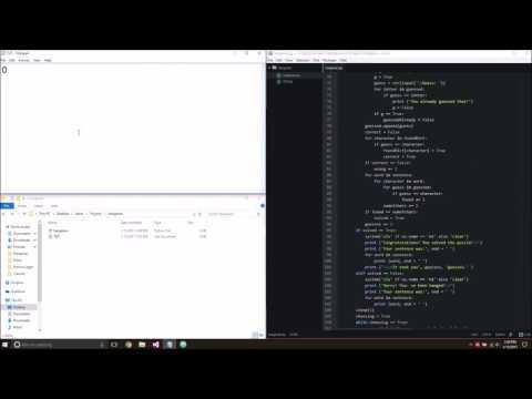 Python Simple Hangman Game