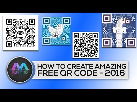 How to Create a amazing FREE QR Code Generator -2016