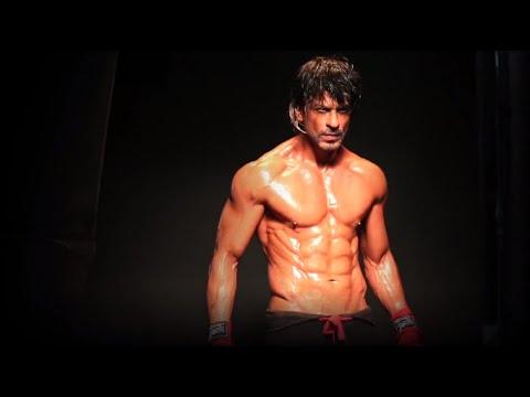Shah Rukh Khan | Hot '8-pack' Photo Shoot | Daboo Ratnani Calender Making 2015 [Behind The Scenes]
