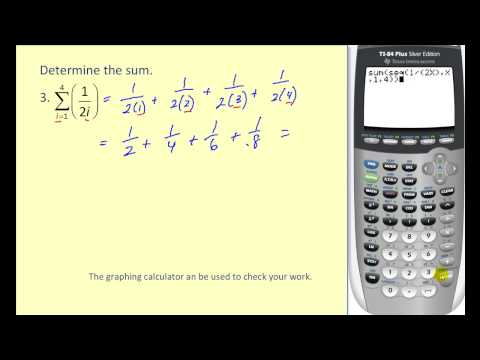 19. 1. Summation notation graphing calculator by mathlab:user manual.