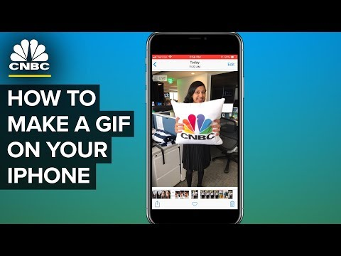 How To Turn Your Photos Into Animated GIFs On Your iPhone | CNBC