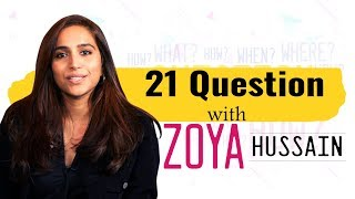 Experience Zoya Hussain up close and personal as she answers 21 Questions   Laal Kaptaan   Exclusive