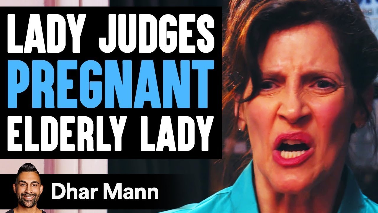 Rude Stranger Judges Pregnant 51-Year-Old Lady, Instantly Regrets It | Dhar Mann