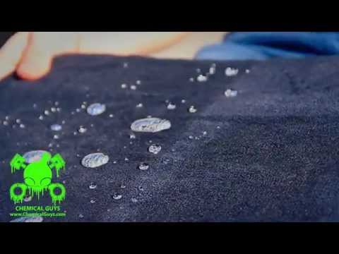 Fabric Guard Protectant Demonstration - Chemical Guys Car Care