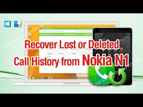 How to Recover Lost or Deleted Call History from Nokia N1