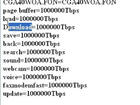 How to speed up your computer by 100000 times--UPDATED