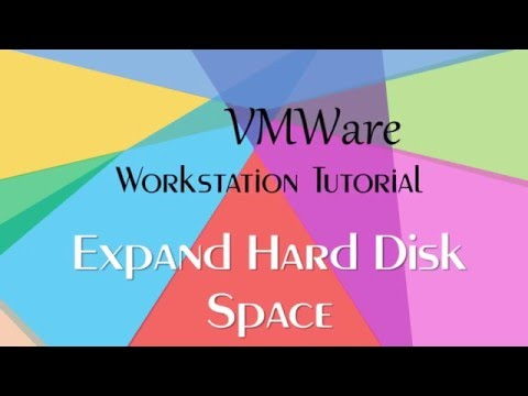 How To Expand / Extend Virtual Hard Disk Partition Size in VMWare Workstation Tutorial
