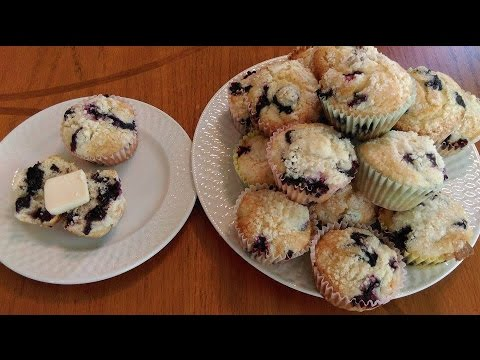 How to Make Homemade Blueberry Muffins - Recipe - The Hillbilly Kitchen