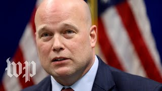 Download What Matthew Whitaker has said about Hillary Clinton Video