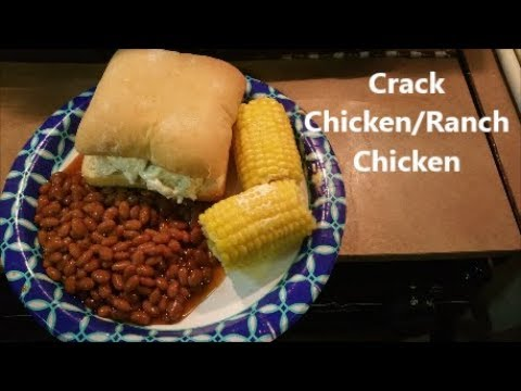 VR to The Kneady Homesteader: Crack/Ranch Chicken
