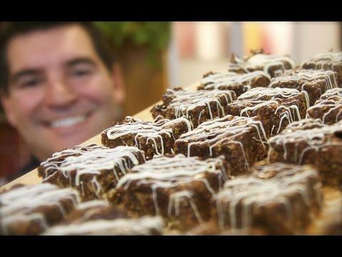 Cornflake Fudge Cake: No-bake treat with chocolate & cranberries   Totally Sacha