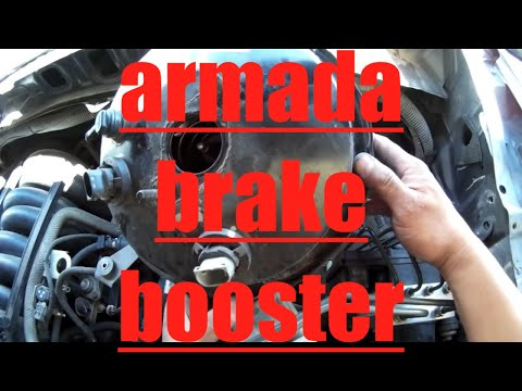 Brake Booster Replacement Nissan Armada Titan √