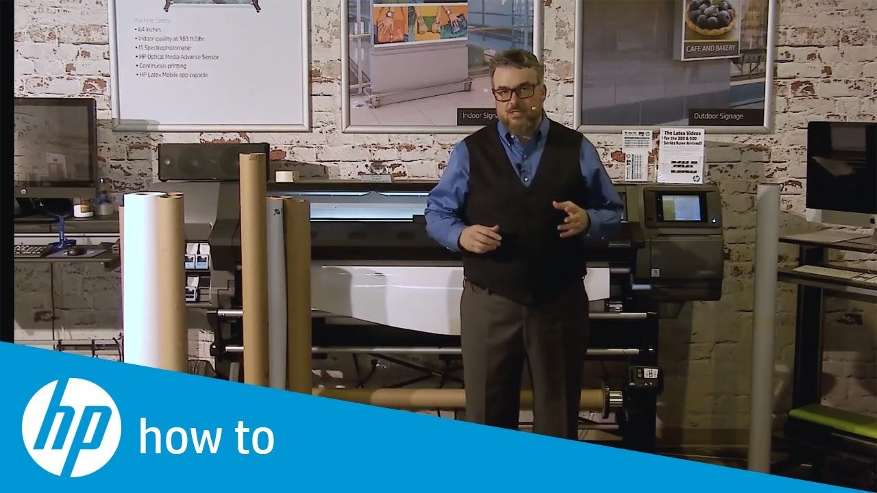 Overview of Panel Printing on HP Latex Printers   HP Latex   HP
