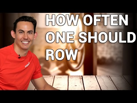 How Often You Need to Row to Consistently Get Better