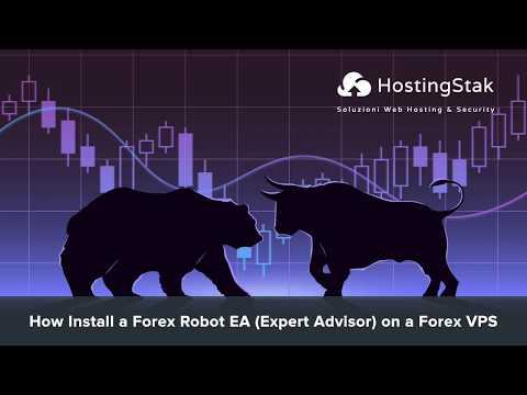 How Install a Forex Robot EA (Expert Advisor) MT4 (MetaTrader 4) on a Forex VPS