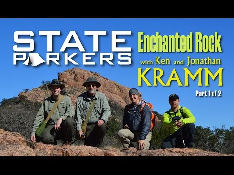 Hiking Enchanted Rock with Kenneth Kramm Part 1