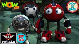 RollBots : Crontab Trouble : Episode 8 : Action animation for kids