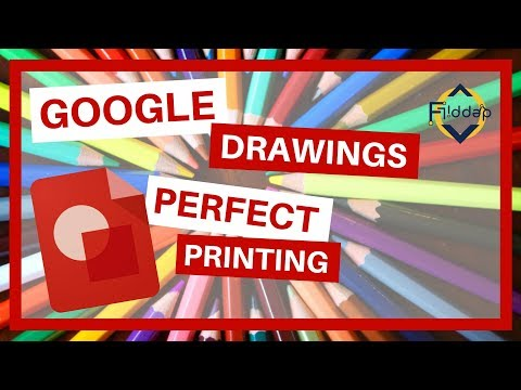 Get Exact Dimensions when printing in Google Drawings