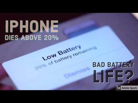 iPhone Battery Dies Randomly | Easy Fix | Battery Replacement | DIY | How To |