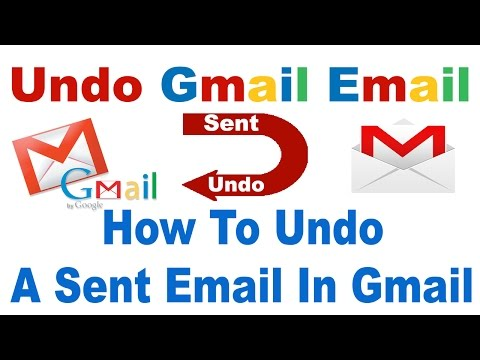 How To Undo Sent Email In Gmail In Hindi/Urdu