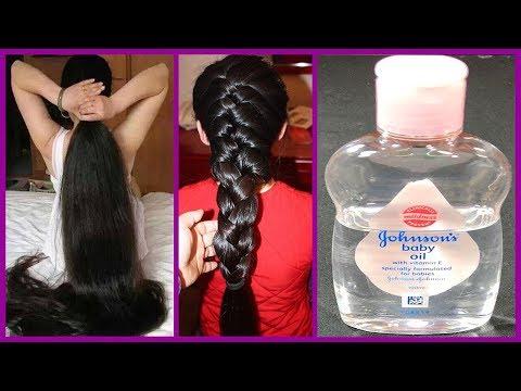 Baby Oil से एक बार में ही बालो को लम्बा व घना बनाये