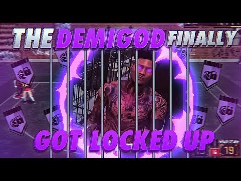 THE DEMIGOD FINALLY GOT CLAMPED UP - I COULDNT DO ANYTHING  - NBA 2K18