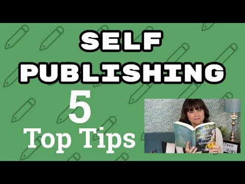 Self Publishing a Book~5 Tops Tips!