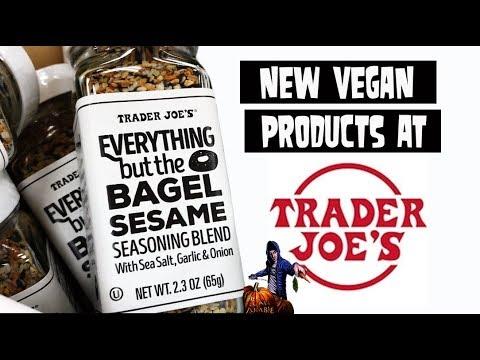 NEW VEGAN Products at TRADER JOE'S