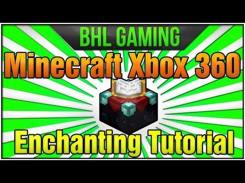 Minecraft Xbox 360: How to Enchant Items! [Enchanting Tutorial]