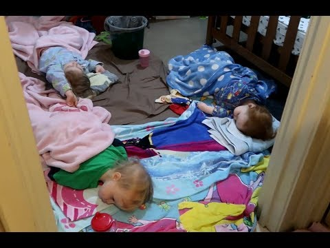 A Night with 6 Kids with a Stomach Bug